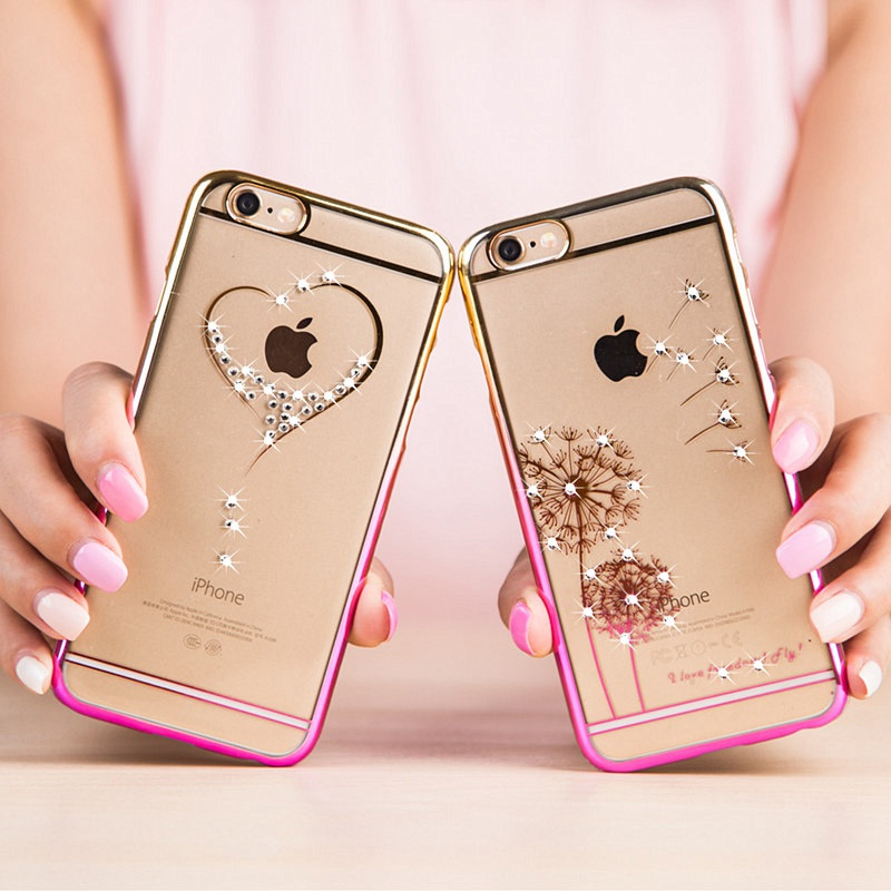 Luxury Bling Case for iPhone 5/ 5s iPhone 6 iPhone 6 Plus,Coque iPhone 6 6 Plus